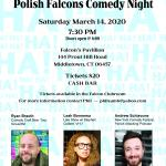 Polish Falcons 519 Comedy Night