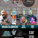 Comedy Night at Priam Vineyards
