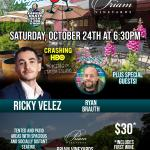 Ricky Velez at Priam Vineyards