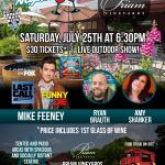 Priam Vineyards Comedy Night