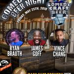 Back East Comedy Craft Beer Night