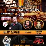 Counter Weight Comedy Craft Beer Night