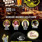 Firefly Comedy Craft Beer Night