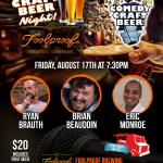 Foolproof Comedy Craft Beer Night