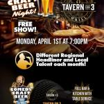 Free Comedy at Tavern on 3
