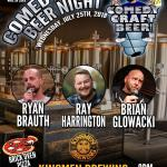 Kinsmen Comedy Craft Beer Night