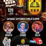 New City Comedy Craft Beer Night
