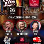 Parable Comedy Craft Beer Night