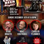 River Styx Comedy Craft Beer Night