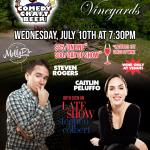 Rosabianca Vineyards Comedy Night