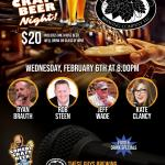 These Guys Comedy Craft Beer Night