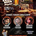 Thimble Island Comedy Craft Beer Night
