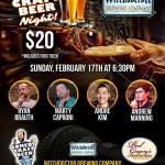 Witchdoctor Comedy Craft Beer Night